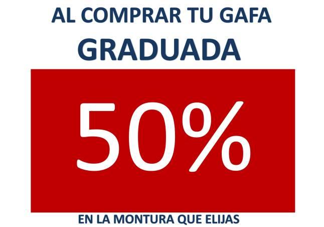 OPTICA VISION LA VALL CAMPAÑA MOPNTURA 50%