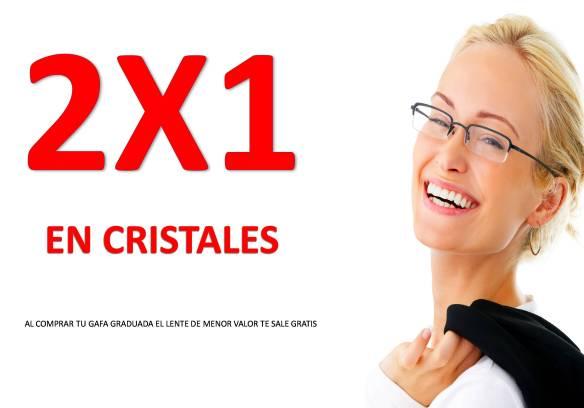 CAMPAÑA 2X1 en cristales