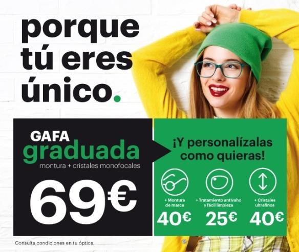 PROMOCION GAFA GRADUADA 69 €